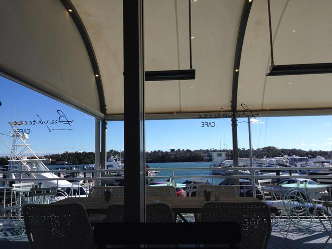 baybreeze, cafe, st george motor boat club, sans souci, view, location
