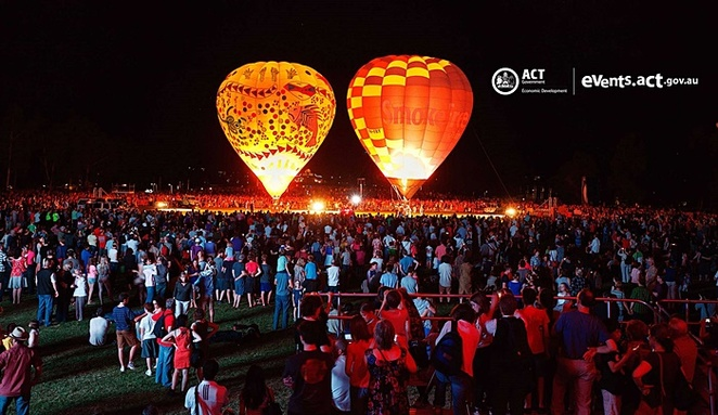 canberra balloon spectacular, canberra, march, 2018, events, march, hot air balloons, views, balloons, characters
