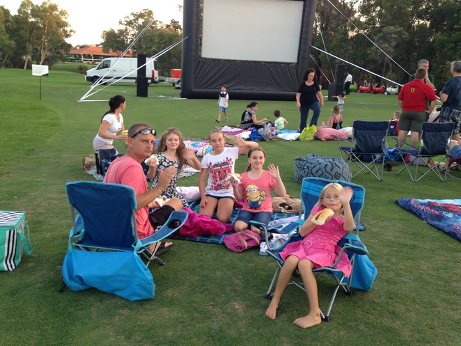 city of wanneroo, outdoor cinema, live in the amphitheatre, things to do in january and february, free things to do