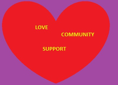 Community, Love, Support