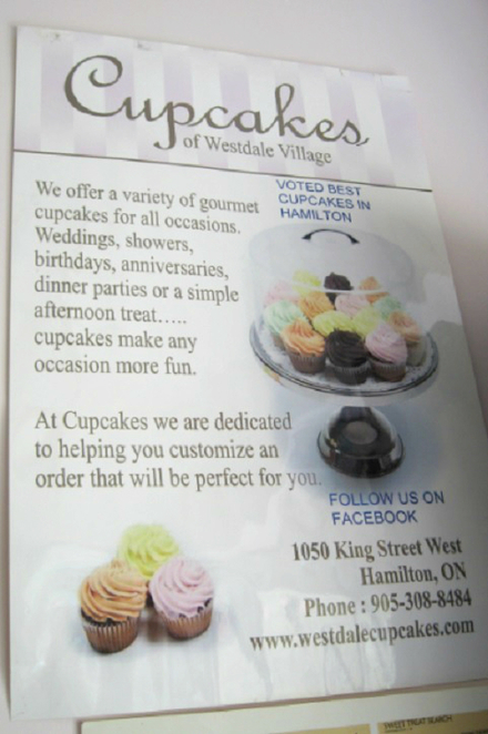 Cupcakes of Westdale, cupcake, cupcake dessert, sweet desserts, cakes, buttercream, gourmet cupcakes, chocolate frosting,