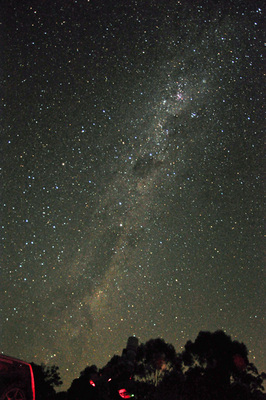 Milky Way at last year's star party