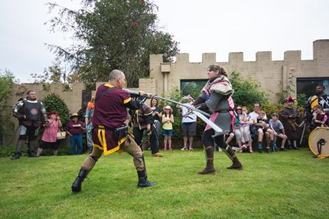 Engarde - Its a fight to be the Victor and Knight Glorious