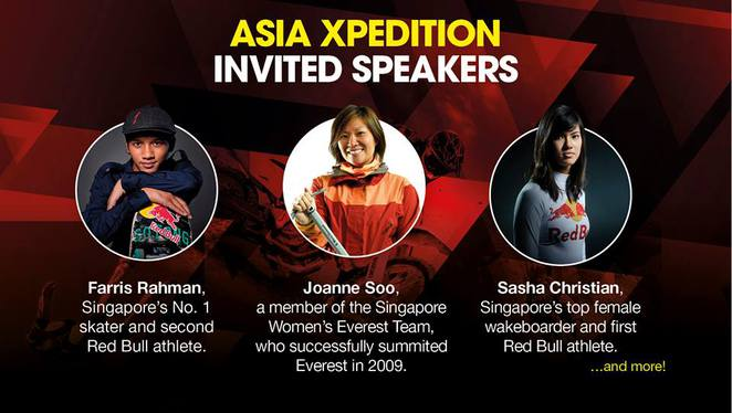Farris Rahman, Shasha Christian, Joanne Soo, AX2016, Asia Xpedition, Suntec City, Hiking, Climbing, Exotic travel destination, dragon boat, wind surfing