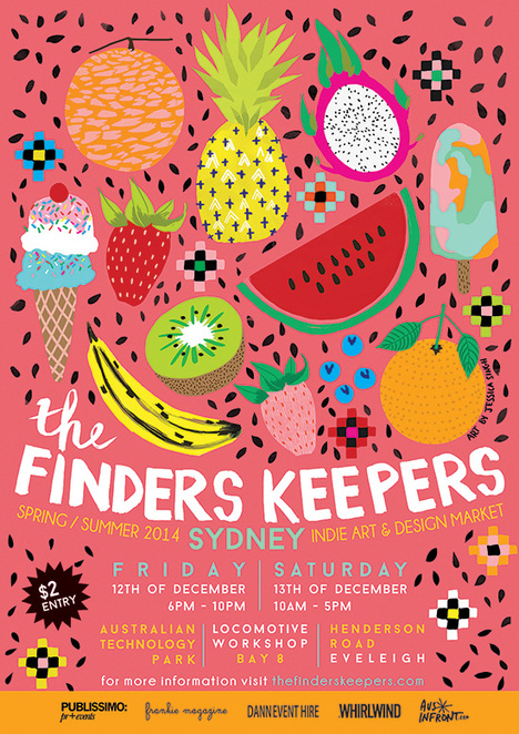 finders keepers workshop kids sewing lampshade making craft crochet fabric printing class sydney december