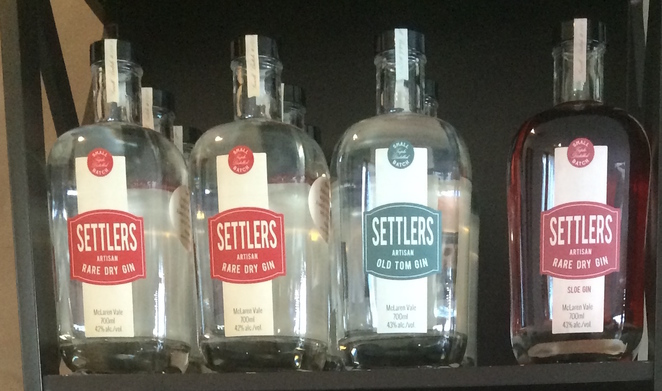 Four types of gin