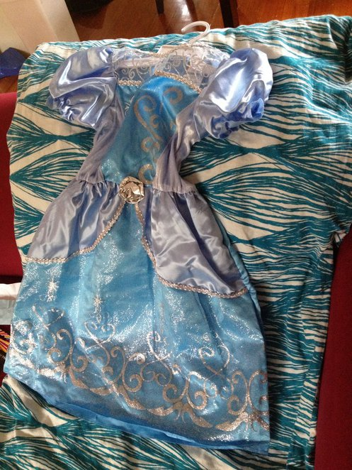 Frozen theme party, Disney, cinderella dress, DIY Elsa dress