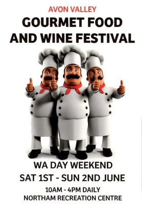 Image Courtesy of the Avon Valley Gourmet Food and Wine Festival website