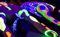 Glow Yoga, Glow Arts Centre Gold Coast, Glow event Arts Centre, Glow free event gold coast, Gold Coast free events. Gold Coast family event, Arts Centre Gold Coast Glow event