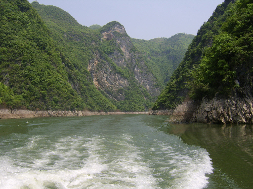 Going Along the Wu Gorge