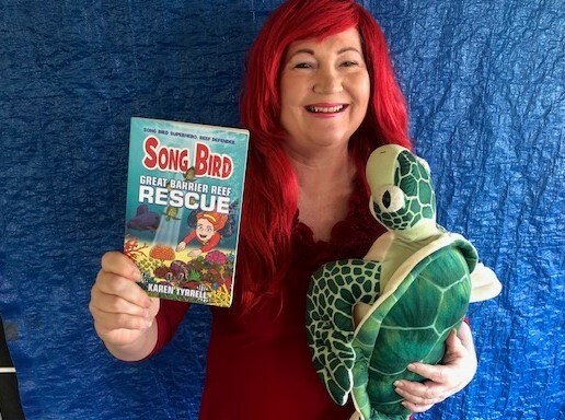 Great Barrier Reef Rescue Songbird 4 Book Launch Karen Tyrrell