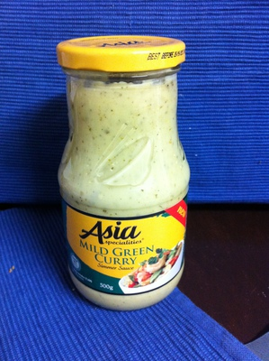 'Asia Specialties' Mild Green Curry