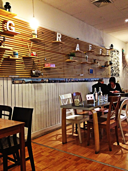 Giraffe cafe melbourne for Food bar giraffe