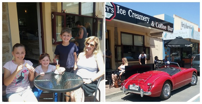 Izzy's, Icecream, Ice-cream, Ice Creamery, Cafe, Coffee Bar, Mannum, River