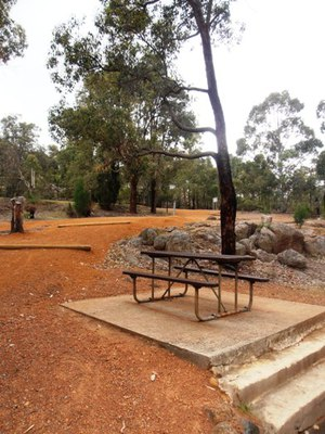 Another picturesque spot at John Forrest National Park.