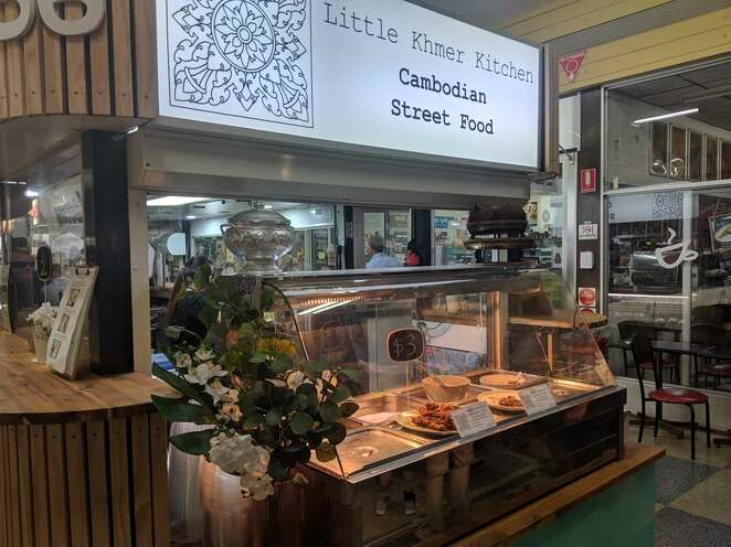 little khmer kitchen, cambodian, street food, adelaide, central market