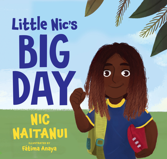 Little Nic's Big Day, Nic Naitanui, Albert Street Books
