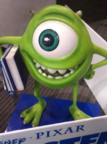 mike wazowski, monster's university, movie, children