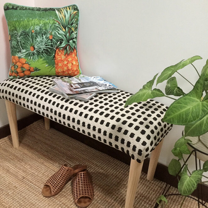 ministry of handmade bench seat