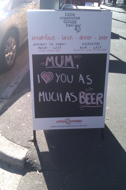 Mother's Day - Little Creatures Dining Hall