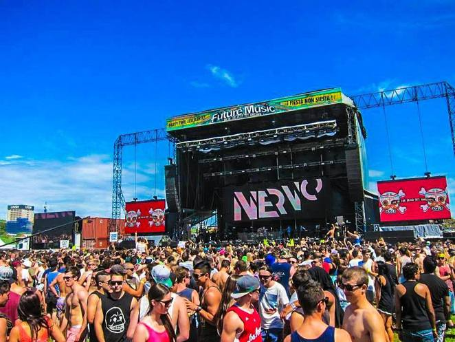 Nervo set during last year's Future Music Festival