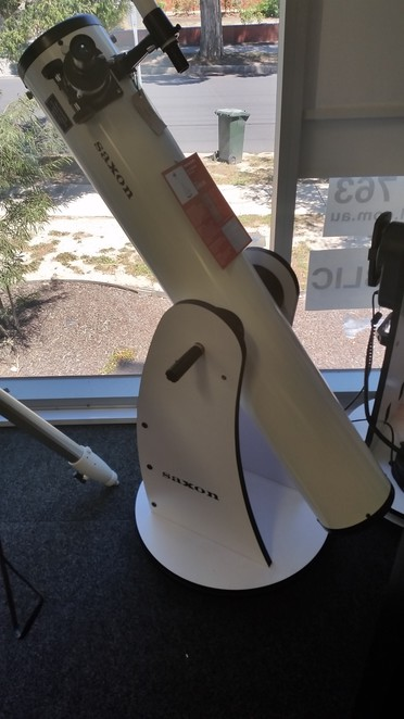 An inexpensive and powerful telescope.