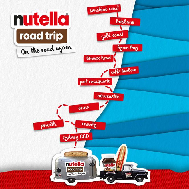 Nutella Road Trip 2017