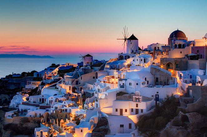 Sunset tours Santorini