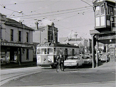 Old,Melbourne,trams