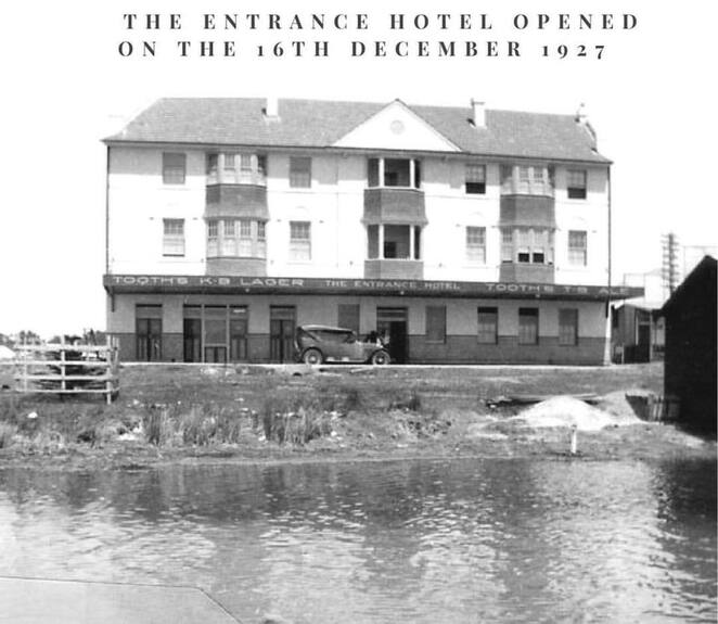 @theentrancetourism & @scottfalconermcgrath, the entrance hotel, history, the entrance, pub, nsw, central coast, family friendly, best pub, events, functions, NSW,