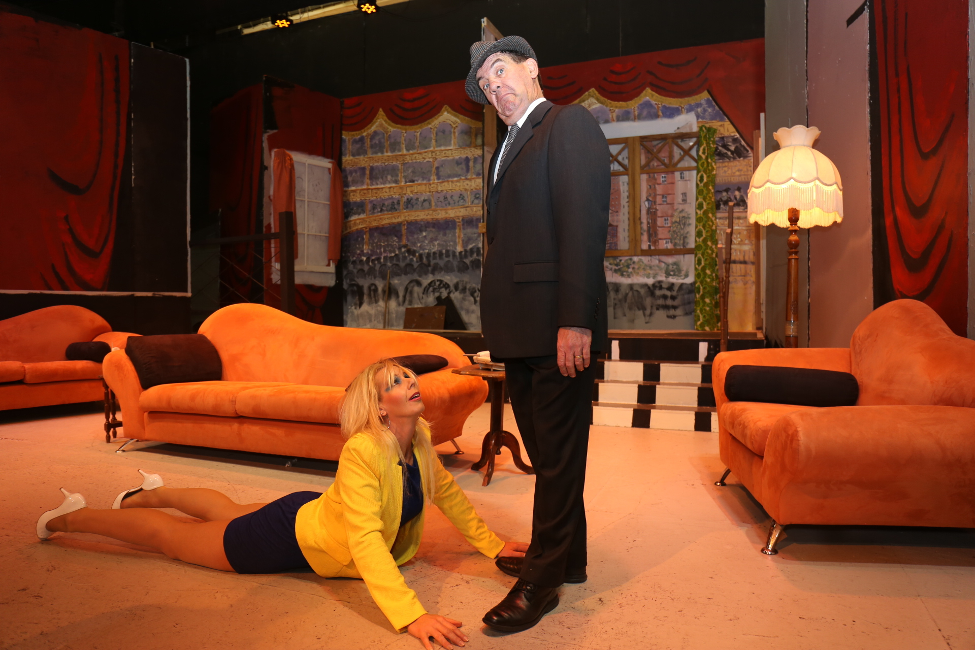 Run for your wife at limelight theatre perth for Farcical run out