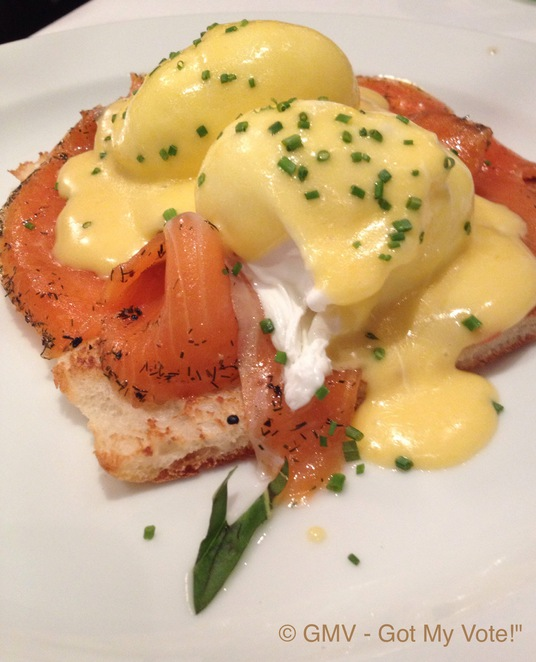 Salmon, Benedict, Breakfast