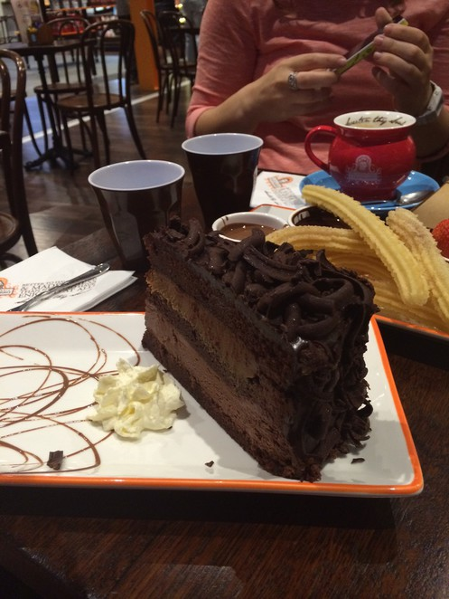 San Churro Chocolate Cake
