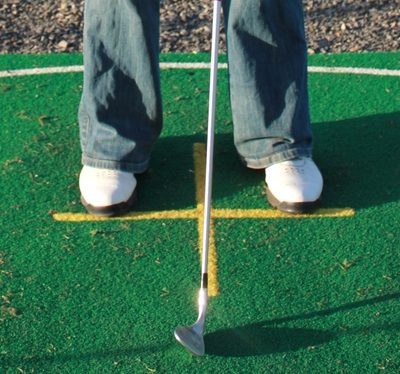 Square Golf Stance
