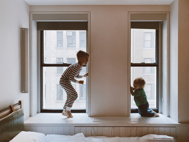 Ten ways to survive at home with children during a pandemic