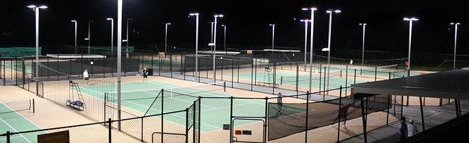 Courts at Shaw Park