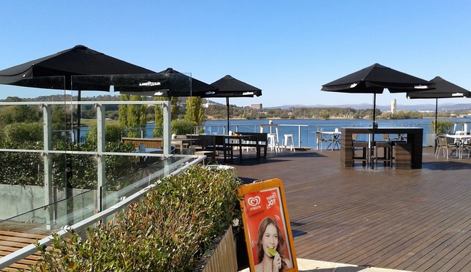 the deck, cafe, regatta point, breakfast, lunch, functions, weddings, views, best views