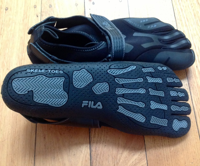 Toe shoes, vibram, FILA, running, safety, sport, gym, athletes, athletics, sailing