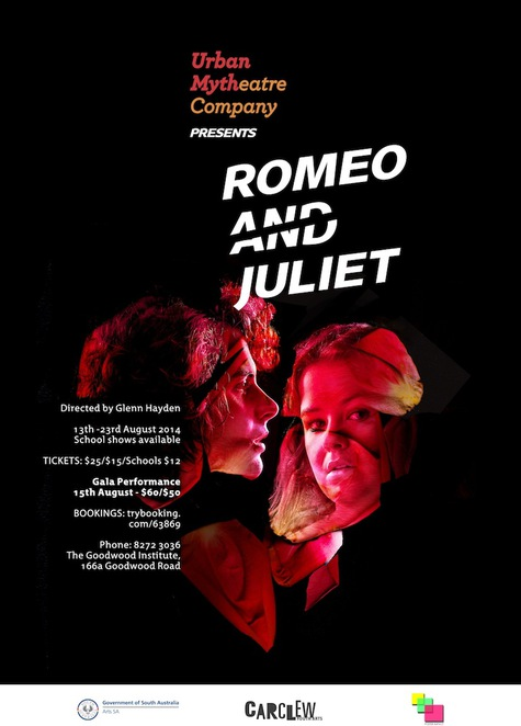 Urban Myth Theatre Co presents Romeo and Juliet