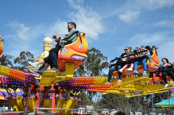 Victoria Melbourne Ascot Vale Royal Melbourne Show Showgrounds Agriculture Agricultural Rural Family Fun Entertainment Sideshow