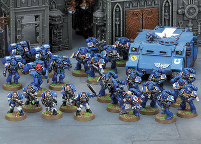 Space Marines, Warhammer (c) Games Workshop