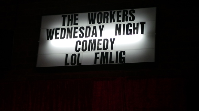 Wednesday Night Comedy The Workers Balmain
