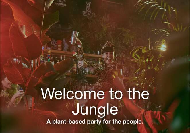 Welcome to the Jungle plant-based party - Melbourne Food and Wine FestivaL