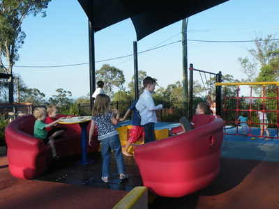 Playground at Mt Gravatt Lookout