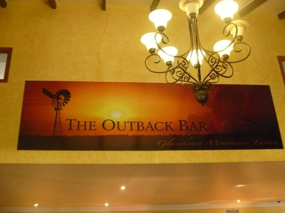 The Outback bar