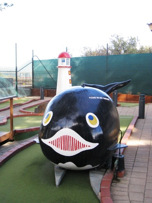 The Dunes minigolf park