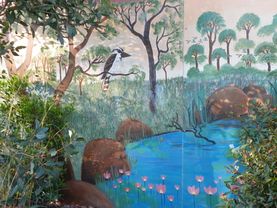 Mural at Mt Gravatt Lookout