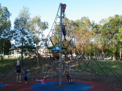 Spiderweb tower, Glindemann Park