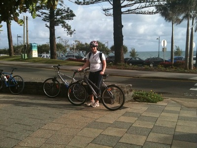 Bike at Mooloolaba