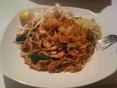 Pad Thai by Flickr user Lazarius